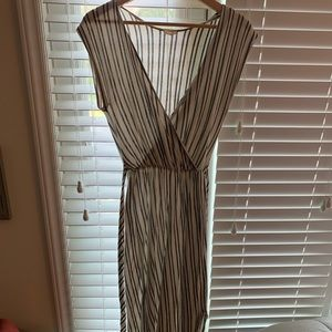 Urban Outfitters Linen like maxi dress